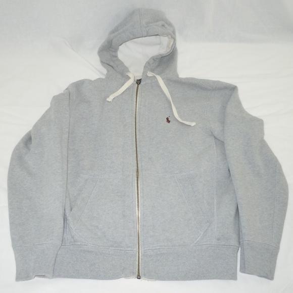 b263947d7ecd ... promo code ralph lauren polo sweatshirt hoodie gray m heavy ebacf af2c0